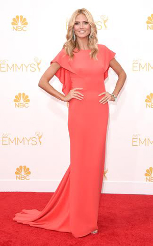 Emmy Awards How-To: Heidi Klum