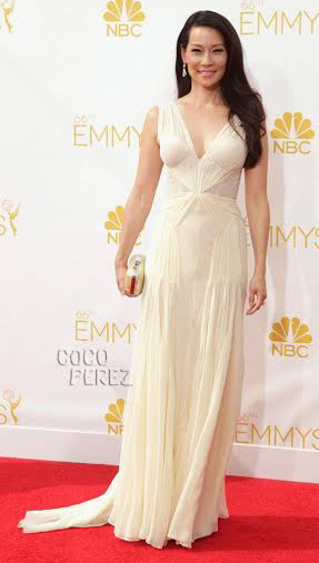 Emmy Awards How-to: Lucy Liu