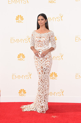 2014 Emmy Awards How-To: Camila Alves