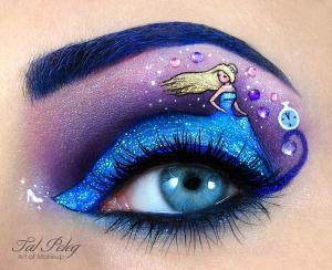Tal_Peleg:_Cinderella_Eye_Painting_