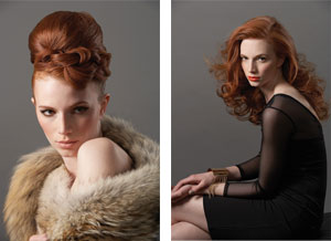 Hair: Kirsten McIntosh; Make-up Cheryl Gushu; Photography: Kint