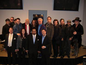Top Row (L to R): Amit Abraham, Tim Hartley, Gina Khan, Joseph Dimaggio, Phillip Wilson, Jo Blackwell, Nicholas French, Boyd Parris, Patrick McIvor, Leonel Rodriguez, Rocky Vitelli and Robert Cromeans.