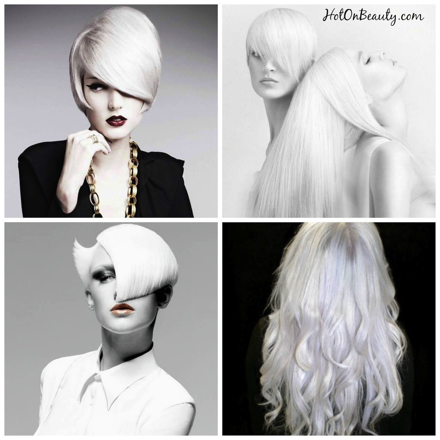 White Platinum Hair Color
