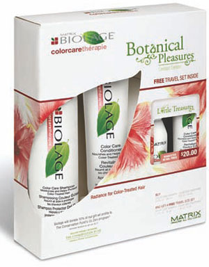 Biolage hydrathêrapie Rainforest Travel Kits