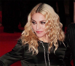 Madonna Curly Hair