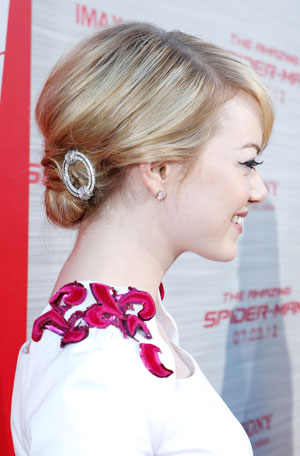 Emma Stone at `The Amazing Spider-Man` Los Angeles Premiere Photo: Eric Charbonneau @ WireImage