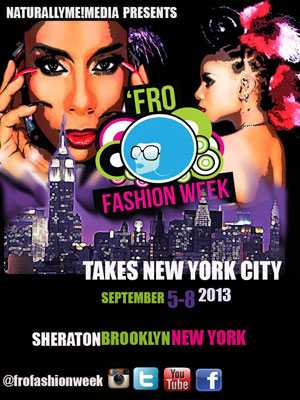 The Fall 'Fro Fashion Show will debut in Brooklyn in September.