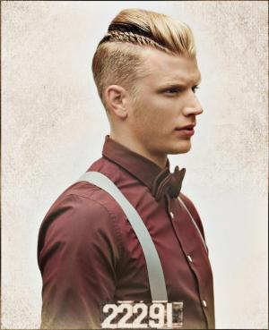 Men`s_Hairstyle_by_Paul_Pereira:_Fashion_Forward_