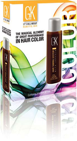GKhair Enters the World of Pro-Beauty Haircolor