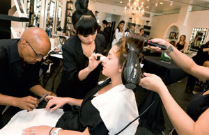 Style Bar Beverly Hills was founded on the concept of providing multiple salon services at one time