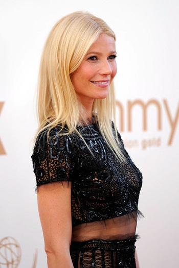 Gwyneth Paltrow`s Emmy Hair by Celebrity Hairstylist David Babaii