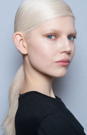 Pony Up! Sleek Ponytails at Hugo Boss