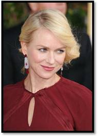 Naomi Watts Dons a Classic Style