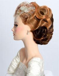 Olivarez`s winning bridal style