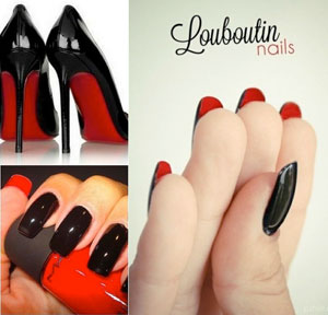 Louboutin Nails
