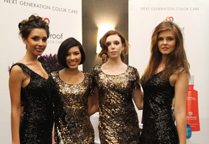 Models shine at the recent ColorProof and Sweis event in Santa Monica, Calif.