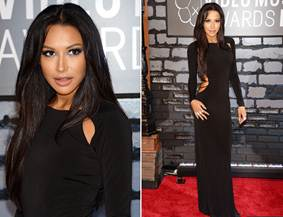 Naya Rivera on the Red Carpet
