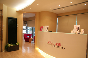NovaLash Signature Studio in central Hong Kong