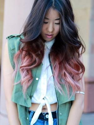 Pastel_Dark_hair_with_Pink_