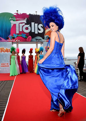 Patrick Cameron works with Dreamworks to Launch Trolls at the Cannes Film Festival