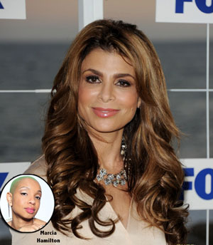 Celebrity hairstylist Marcia Hamilton created Paula Abdul`s gorgeous waves