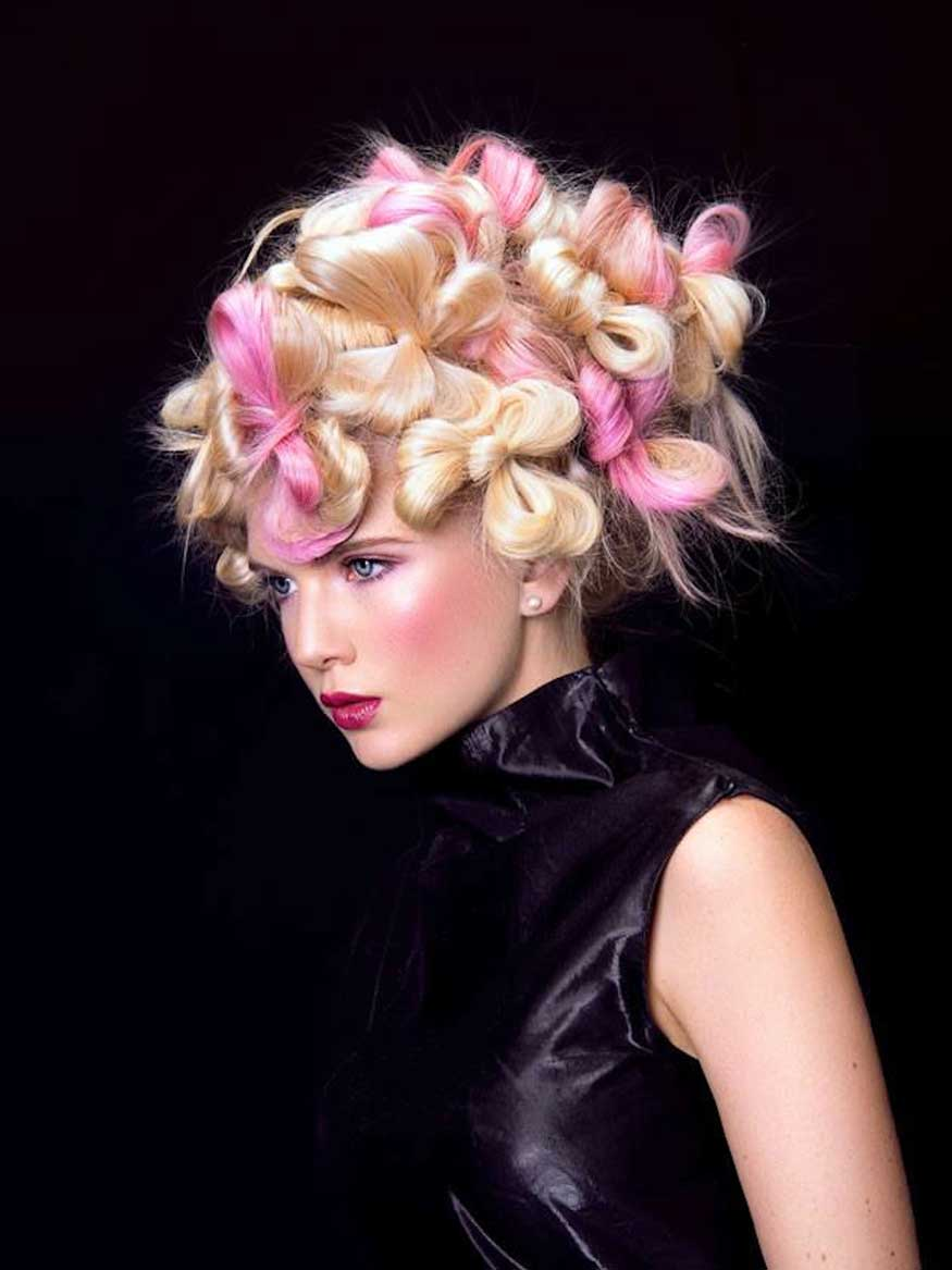 Pink Bows by Lorna Evans, Photographer Owen Zhang