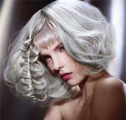 Silver platinumPhotographer: Jack Eames; Hair: Schwarzkopf Young Artistic Team London