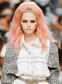 Pastel passion at Chanel