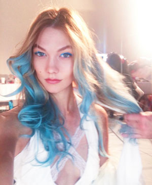 Fashion Model Karlie Kloss Embraces Her Inner Mermaid