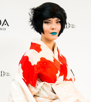 Japanese inspired cuts were a focus for Ricardo Dinis, who showcased his looks at the Aveda Congress 2013