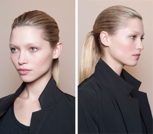 One Show, Two Hairstyles: Ralph Lauren at NYFW