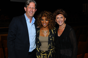 From left: Robert Passage, Chairman and CEO, Pivot Point with Angela Stevens and Pivot Point`s co-founder Lenie Passage.