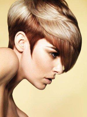 Delicate pale blonde with deeper shading by Tim Hartley
