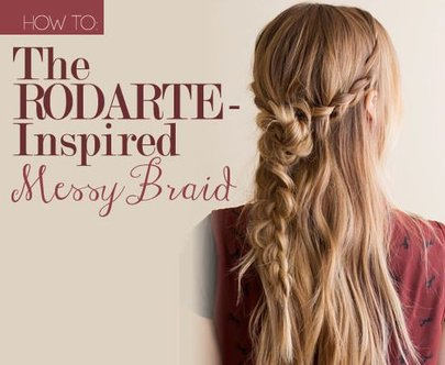 Rodarte-Inspired Messy Braid