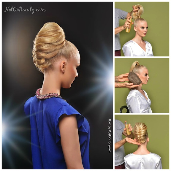 How-To: Elegant Braided Ponytail