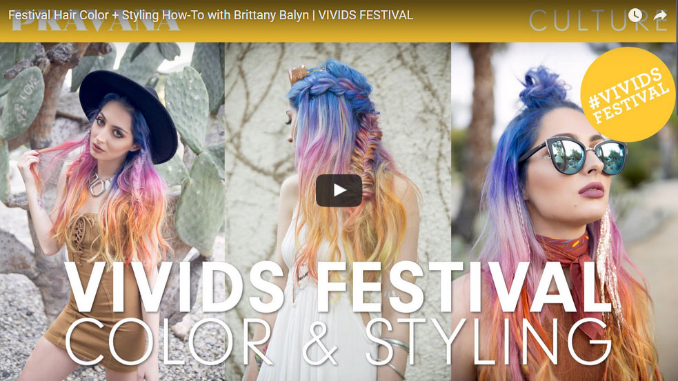 Sahara Sunset: Festival Hair