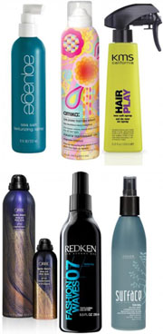 Seven Sprays for Wavy, Beachy Styles