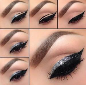 DIY_Steps_to_Creating_the_Perfect_Silver_and_Black_eyeliner_