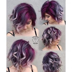 Layered_Lobs__This_messy,_purple_and_silver_lob_embraces_the_neo-grunge_genre_of_street_styles._Stylist:_Rickey_Zito_IG_@hairgod_zito__Tip:_Front_and_side_layers_of_any_lob_design_should_never_be_shorter_than_one_inch_above_the_chin._