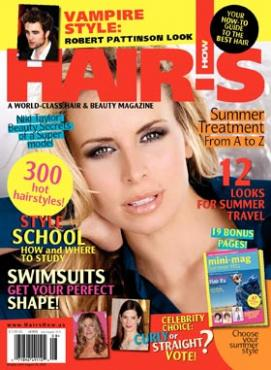 HOT by Hair's How Magazine, July/August 2010 issue - look inside