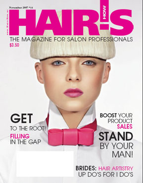 HOT by Hair's How Magazine, November 2007 issue - look inside