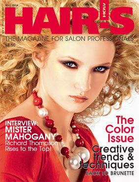 HOT by Hair's How Magazine, May 2008 issue - look inside