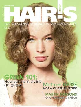 HOT by Hair's How Magazine, August 2008 issue - look inside