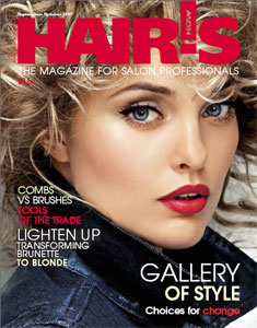 HOT by Hair's How Magazine, September/October 2007 issue - look inside