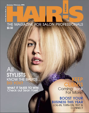 January/February 2008 HOT by Hair's How Magazine issue