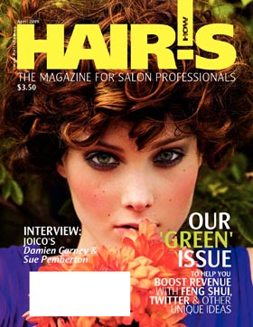 HOT by Hair's How Magazine, April 2009 issue - look inside