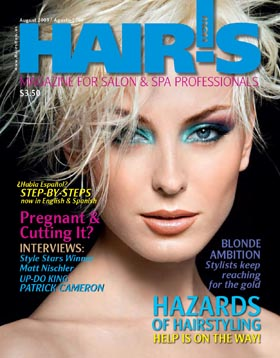 HOT by Hair's How Magazine, August 2009 issue - look inside