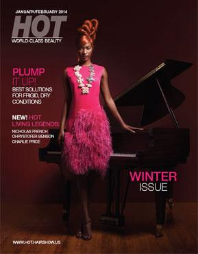 January/February 2014 HOT by Hair's How Magazine issue