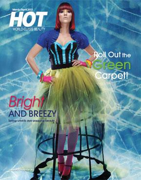 HOT by Hair's How Magazine, March/April 2013 issue - look inside