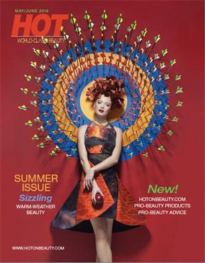 HOT by Hair's How Magazine, May/June 2014 issue - look inside